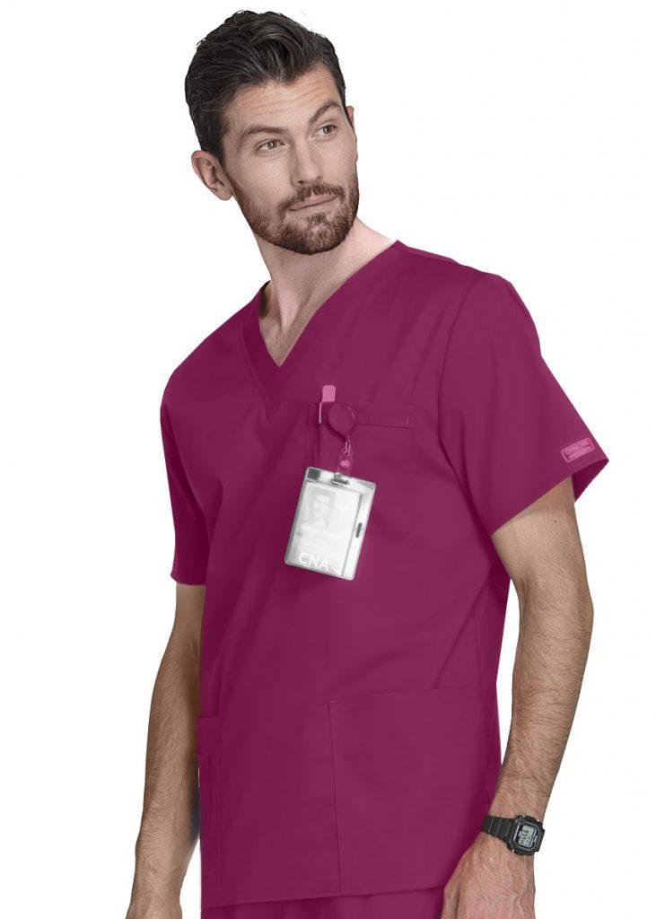 Bluza medyczna męska