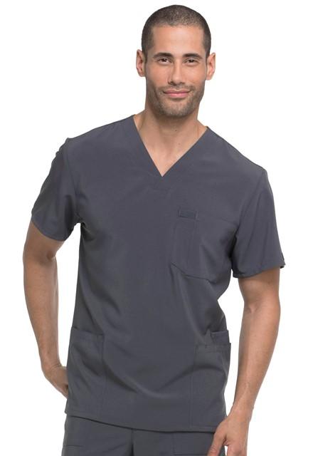 Bluza medyczna męska Essentials grafitowa