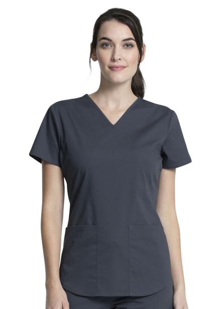 Komplet bluza/spodnie medyczny damski grafitowy