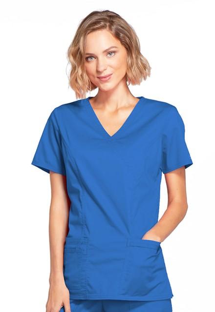 Bluza medyczna damska Core Stretch szafirowa