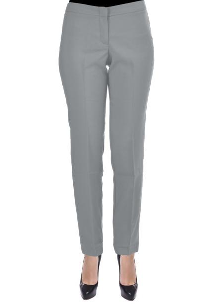 Spodnie kosmetyczne typu Slim szare