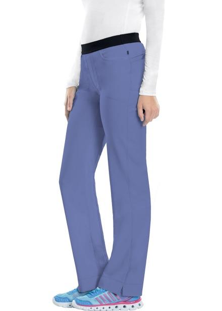 Spodnie medyczne antybakteryjne błękitne