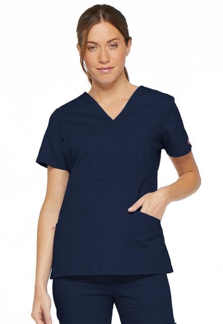 Bluza medyczna damska EDS granatowa