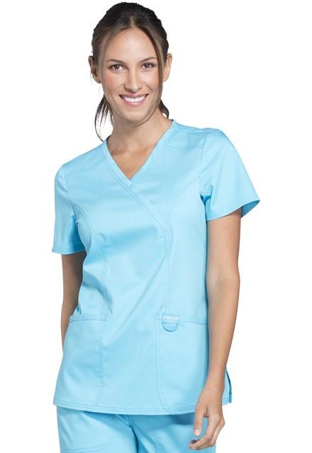Bluza medyczna damska Revolution turkusowa