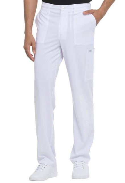 Spodnie medyczne męskie Essentials białe
