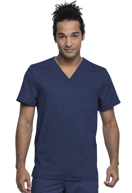 Bluza medyczna męska Revolution Tech granatowa
