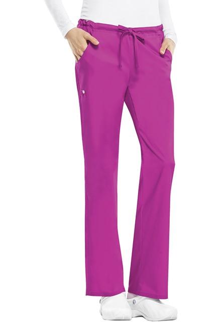 Spodnie medyczne damskie Luxe różowe