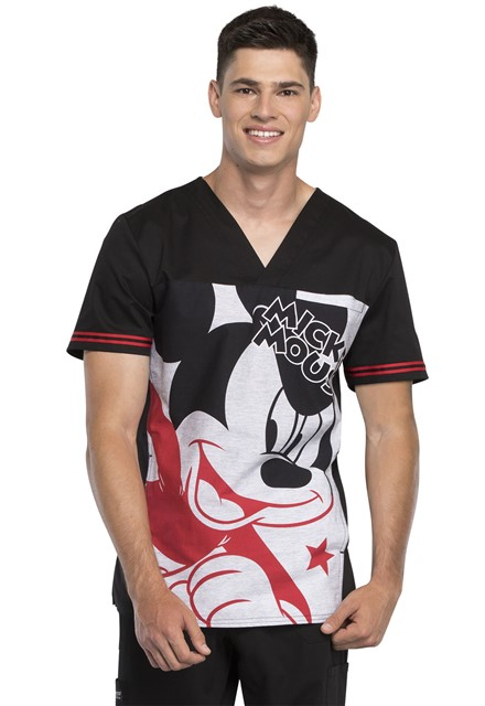 Bluza medyczna męska Mickey Star