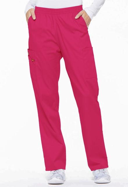 Spodnie medyczne damskie EDS różowe