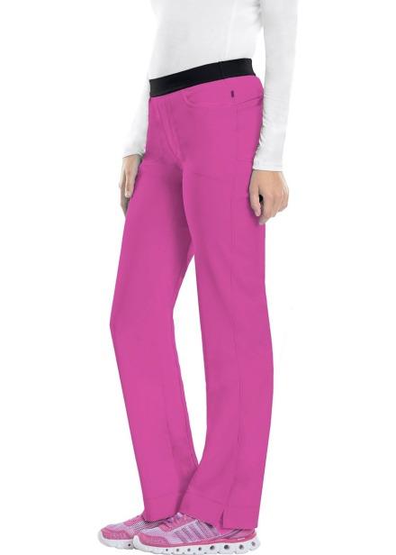 Spodnie medyczne antybakteryjne różowe