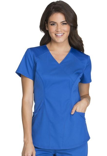 Bluza medyczna damska Luxe Sport szafirowa
