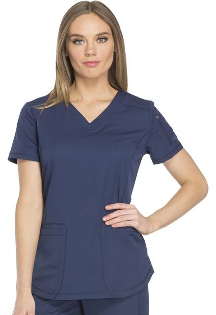 Bluza medyczna damska Dynamix granatowa