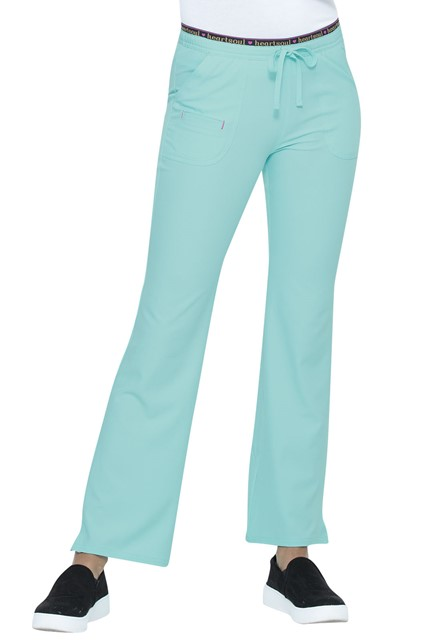 Spodnie medyczne damskie HeartSoul turkusowe