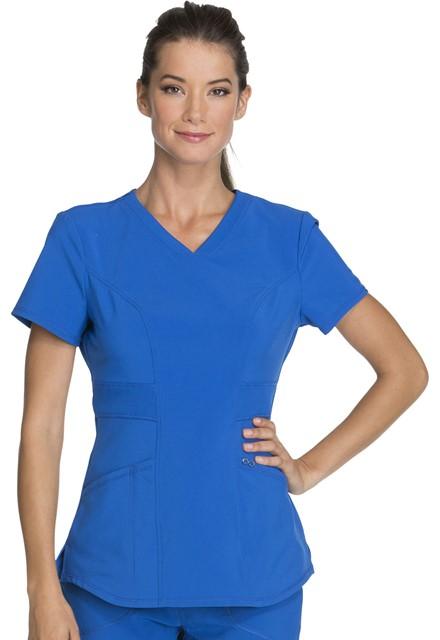 Bluza medyczna damska Infinity szafirowa