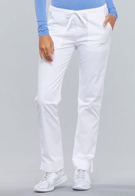 Spodnie medyczne damskie Core Stretch białe