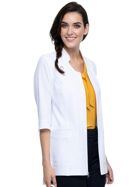 Fartuch medyczny damski antybakteryjny biały