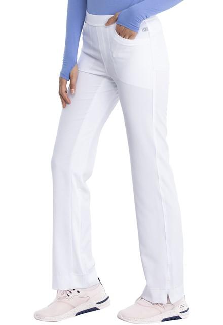 Spodnie medyczne antybakteryjne białe