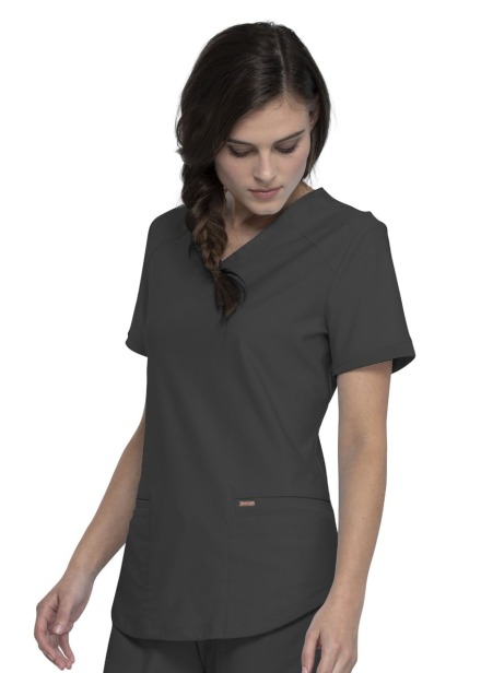 Bluza medyczna damska Form grafitowa