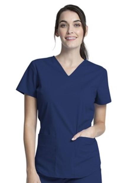 Komplet bluza/spodnie medyczny damski granatowy