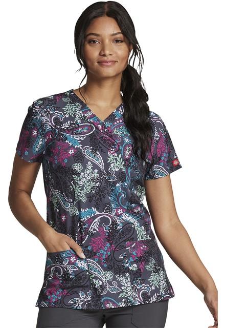 Bluza medyczna damska Pretty Paisley
