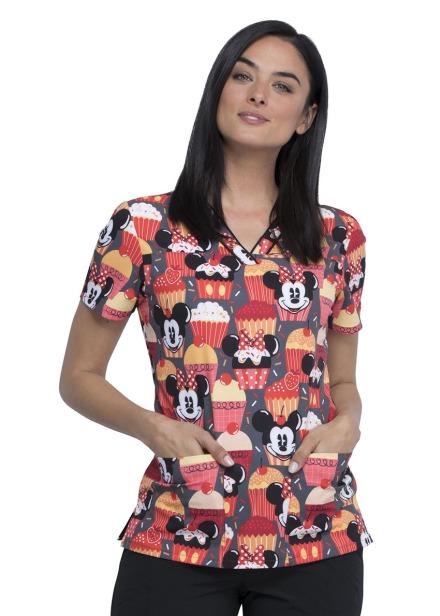 Bluza medyczna damska o wzorze MKUT