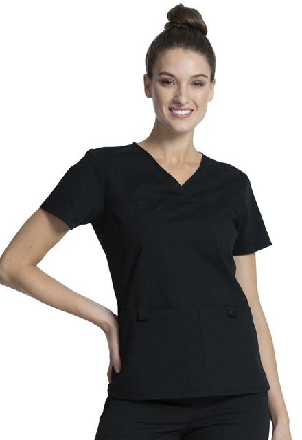 Bluza medyczna damska Professionals czarna