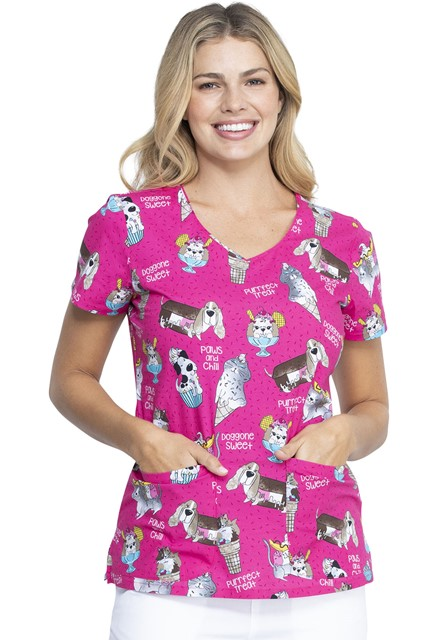 Bluza medyczna damska Doggone Sweet