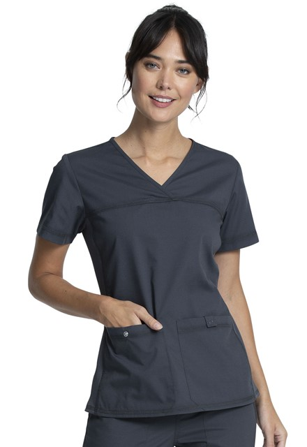 Bluza medyczna damska Professionals garfitowa