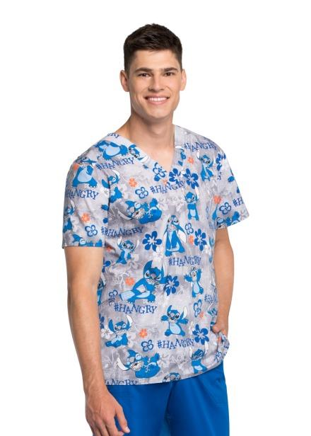 Bluza medyczna męska o wzorze LHAG