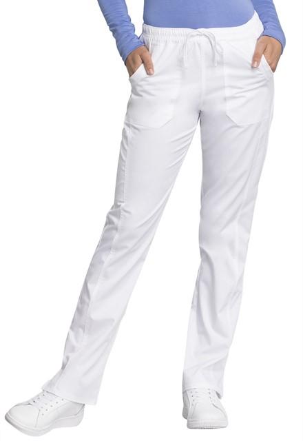 Spodnie medyczne damskie Revolution Tech białe