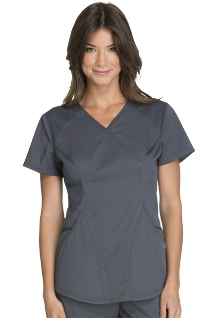 Bluza medyczna damska Luxe Sport grafitowa