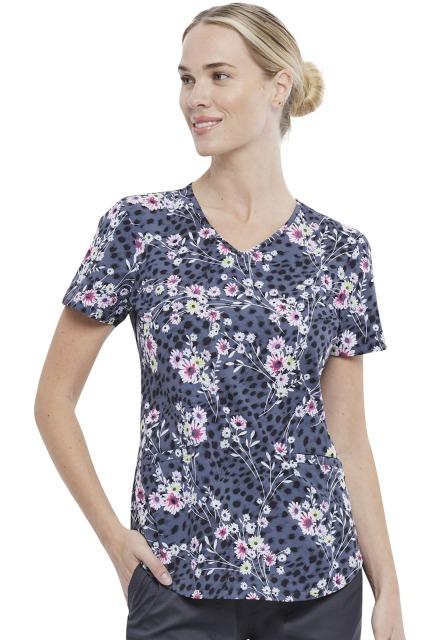 Bluza medyczna damska Cheetah Floral