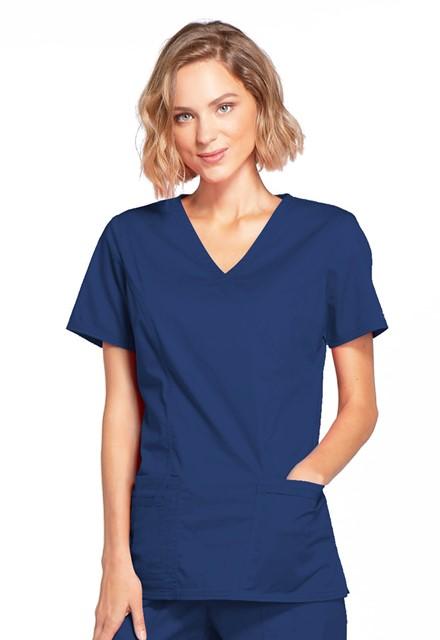 Bluza medyczna damska Core Stretch granatowa