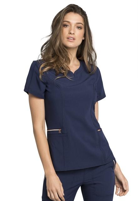 Bluza medyczna damska Statement granatowa