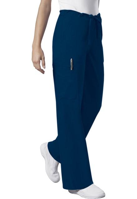 Spodnie medyczne unisex granatowe