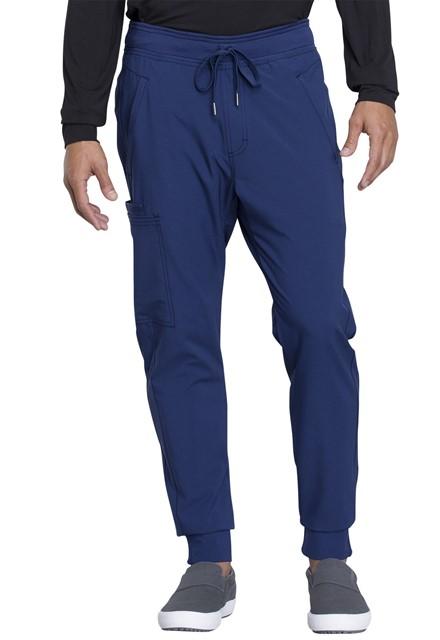 Spodnie medyczne męskie jogger granatowe
