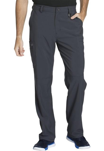 Spodnie medyczne męskie antybakteryjne grafitowe