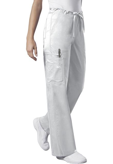 Spodnie medyczne unisex białe