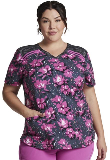 Bluza medyczna damska Bright Blooms