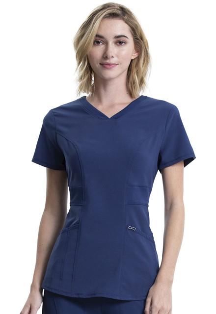 Bluza medyczna damska Infinity granatowa