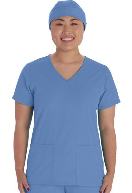 Czepek medyczny błękitny
