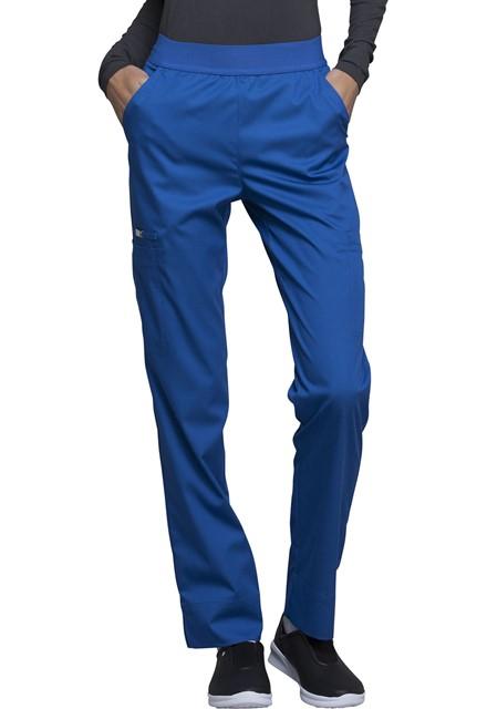 Spodnie medyczne damskie Luxe szafirowe