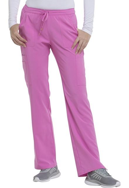 Spodnie medyczne damskie HeartSoul różowe