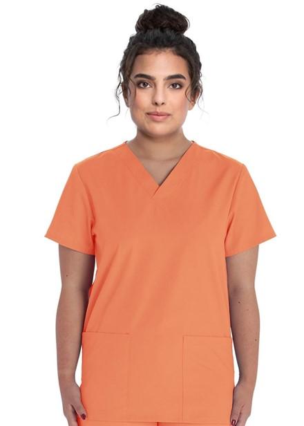 Komplet bluza/spodnie medyczny unisex pomarańcz