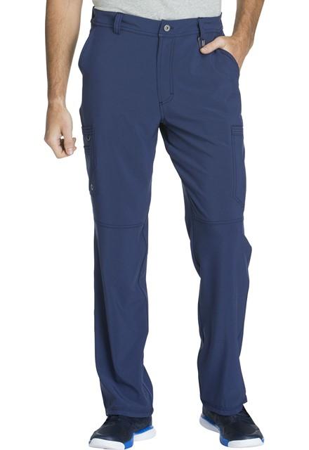 Spodnie medyczne męskie antybakteryjne granatowe