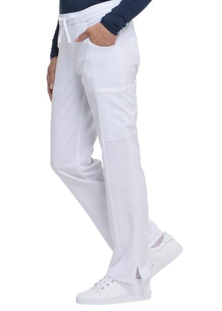 Spodnie medyczne damskie Essentials białe