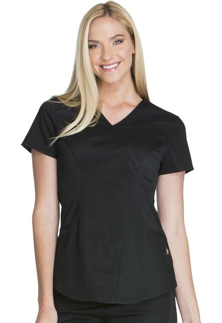 Bluza medyczna damska Luxe Sport czarna