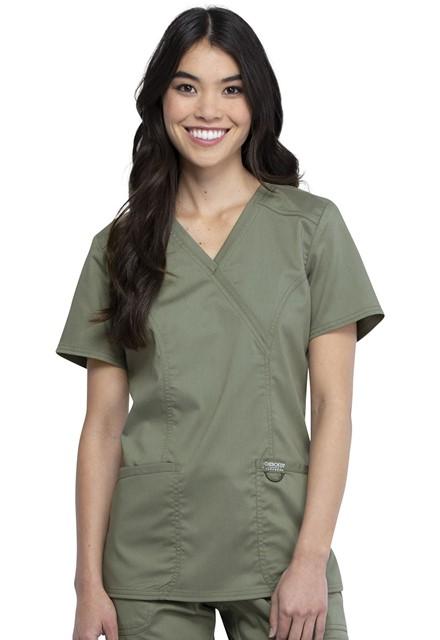 Bluza medyczna damska Revolution oliwkowa