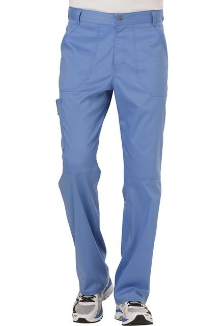 Spodnie medyczne męskie Revolution błękitne
