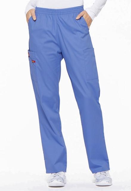 Spodnie medyczne damskie EDS błękitne